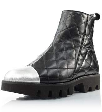 Le Babe Quilted Ankle Boot