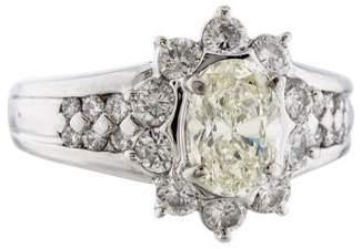 Ring Platinum Diamond
