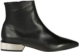 Vic Matié Vic Matie' Squared Heel Ankle Boots