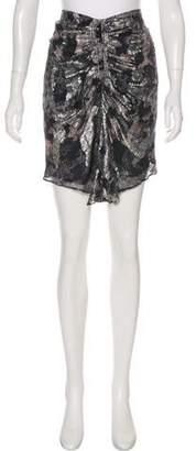 Isabel Marant Silk-Blend Skirt