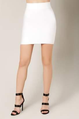 Wow Couture Bandage Mini Skirt