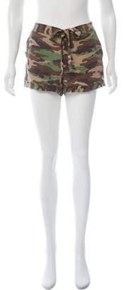 Equipment Silk Camouflage Shorts