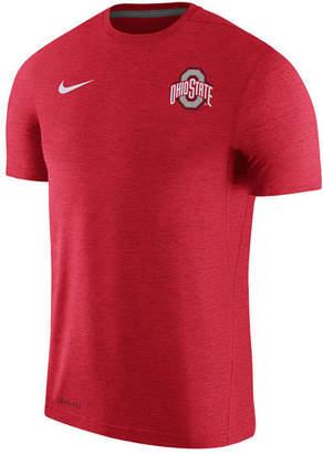 Nike Men's Ohio State Buckeyes Dri-Fit Touch T-Shirt