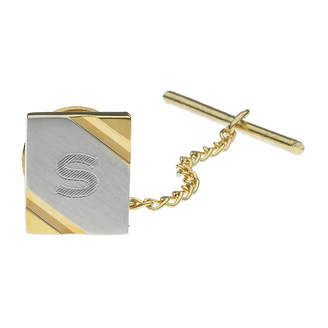 Asstd National Brand Personalized Two-Toned Tie Tack