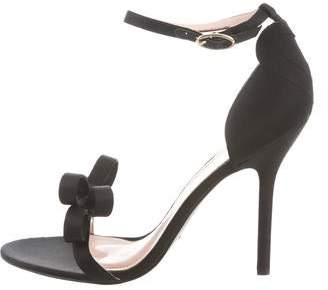 Isa Tapia Shelby Bow-Accented Sandals