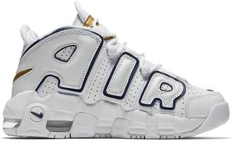 Nike More Uptempo White Midnight Navy (GS)