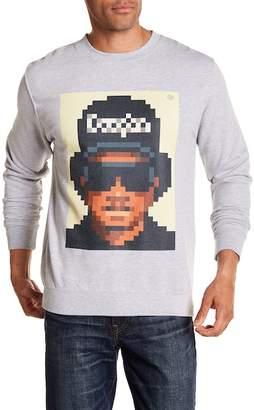Very Important Pixels Attitude Pixelated Graphic Print Sweater