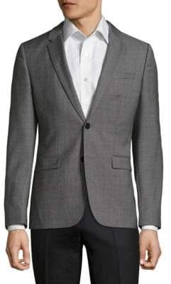 HUGO BOSS Astian-Hets Slim-Fit Wool Jacket