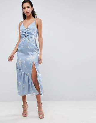 Finders Keepers Finders Floral Cami Midi Dress