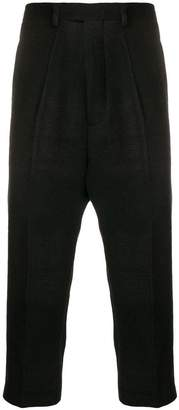 Rick Owens Astaires cropped check pants