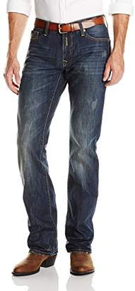 Stetson Men's Rocker Fit Lower Rise Slightly Fitted Thigh Jean