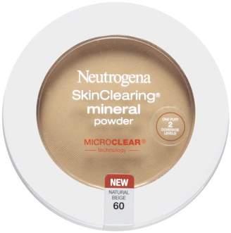 Neutrogena SkinClearing Mineral Powder, Natural Beige 60