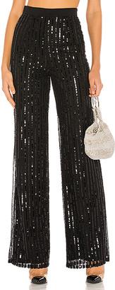Lovers + Friends Nina Sequin Pants