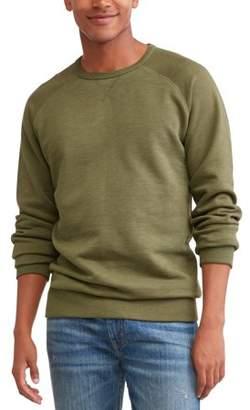 George Men's Crew Sweatshirt, up to size 3XL
