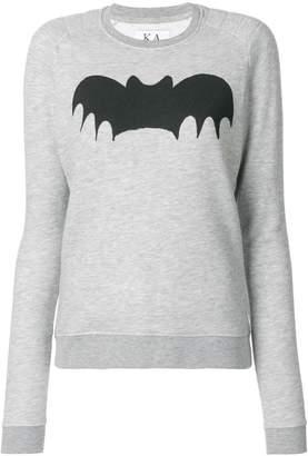 Zoe Karssen Bat print sweatshirt