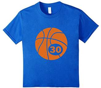 Basketball Player Jersey Number 30 Thirty Graphic T-Shirt