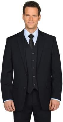 Dockers Men's Classic-Fit Striped Navy Suit Jacket