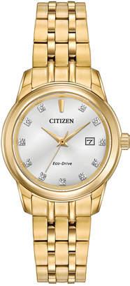 Citizen Women's Stainless Steel Diamond Watch