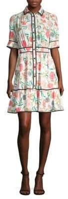 Blossom Shirt Dress