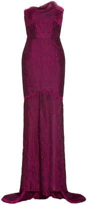 Roland Mouret Turret Bustier Gown