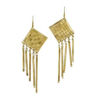 Mela Artisans Lolita Earrings in Gold