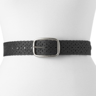 Fossil Relic By Women's Relic by Floral Laser-Cut Belt