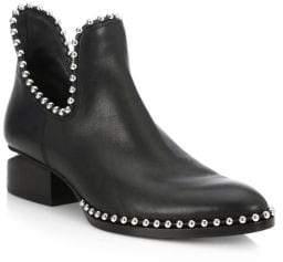 Alexander Wang Kori Cutout Leather Booties