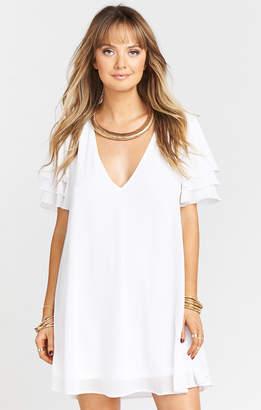 Show Me Your Mumu Disick Dress ~ White Chiffon