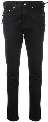 McQ Laced Harvey slim-fit jeans