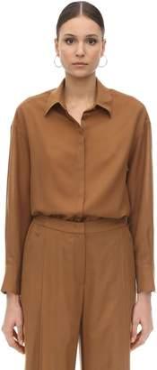 Agnona Wool & Cashmere Shirt
