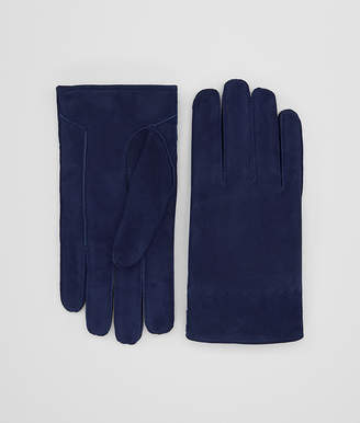 Bottega Veneta DARK ATLANTIC SUEDE GLOVE