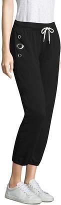 Monrow Women's Cotton Drawstring Sweatpants