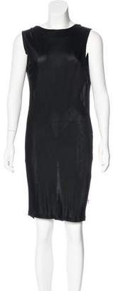 Thomas Wylde Sleeveless Knee-Length Dress