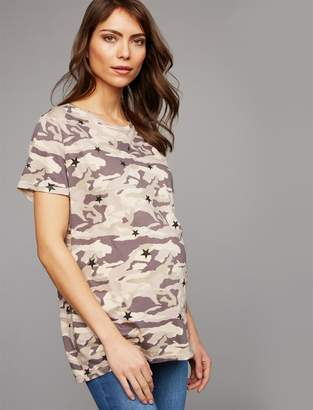 Monrow Pea Collection Super Soft Maternity T Shirt