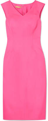 Michael Kors Stretch-silk Crepe Midi Dress - Pink