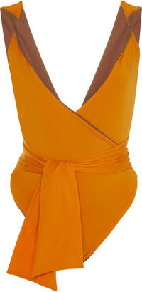 Johanna Ortiz Exclusive It's Been A While Belted One-Piece Swimsuit