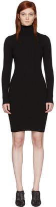 Wolford Black Merino Rib Dress