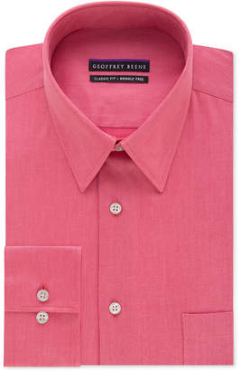 Geoffrey Beene Men's Big and Tall Classic-Fit Wrinkle Free Bedford Cord Solid Dress Shirt $59.50 thestylecure.com