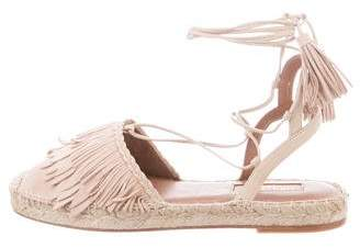 Aquazzura Suede Wrap-Around Sandals w/ Tags