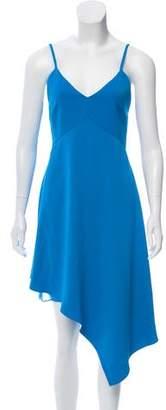 Alice + Olivia Asymmetrical Midi Dress