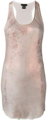Avant Toi glitter sequin dress