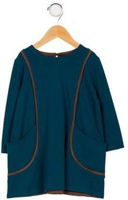 Isabel Garreton Girls' Long Sleeve Shift Dress
