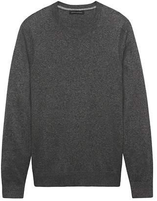 Banana Republic Silk-Linen Crew-Neck Sweater