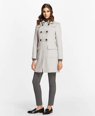 Brooks Brothers Wool-Cashmere Duffle Coat