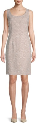 Lafayette 148 New York Rebecca Scoopneck Sheath Dress