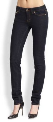 Tory Burch Tory Burch Super-Skinny Rinse Jeans