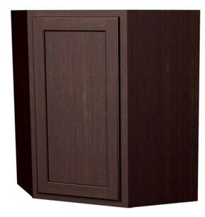 "Arbor Creek Cabinets St. Clair Single Door Angle 30"" H Wall Cabinet Arbor Creek Cabinets"