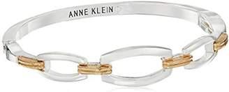 Anne Klein Tone Hinge Bangle Bracelet
