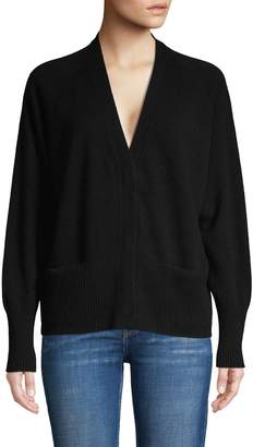 Vince V-Neck Wool & Cashmere-Blend Cardigan