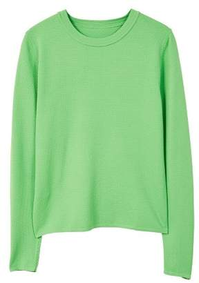 MANGO Textured fine-knit sweater